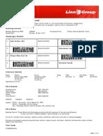 Lion Air ETicket (XPPYNP) - Aida