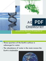 aqueous chemistry