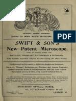 Swift & Son's new patent microscope