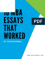 MBA Essay Guide