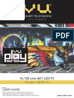 Vu TV manual