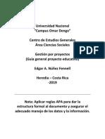 Guía General Proyecto Educativo