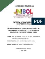 Consumo Percapita de Santa Ana del Yacuma,Beni, Bolivia.docx