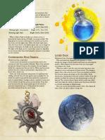 Equipment - Magical Items 4
