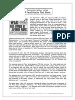 Pearl Harbor Fact Sheet 1