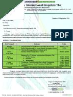 Surat Panggilan Seleksi Rekruitmen Karyawan(i)RS. Siloam Hospitals.2019-2020