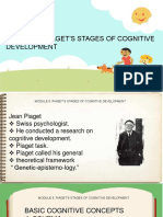 Module 6 Piaget's Stages of Cognitive Development