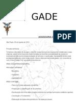 Carta de Apresentação GADE