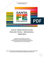 Guía Trabajo Directivo Escolar-M. Organizativo (24!05!19)[11864]