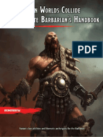 WWCC2 - The Complete Barbarian's Handbook
