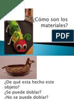 Cómo Son Los Materiales