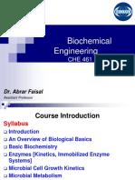 Biochemical emgineering