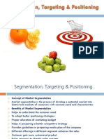 Segmentation Targetting Positioning