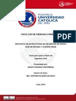 2010 Proyecto de Estructuras de un Edificio en Surco Con un Sotano y 4 Pisos.pdf