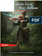 WWCC3 - The Complete Bard's Handbook
