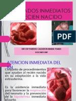 Cuidados Inmediatos y Rcp Neonatal