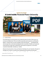 A Look Inside Financial Peace University
