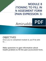 Module_8 (Pain Assessment)