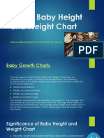 Indian Baby Height and Weight Chart - Wonder Parenting