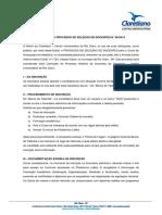 Edital Processo Seletivo de Docente Faculdade de Rio Claro