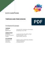 16 Timpani and Percussion