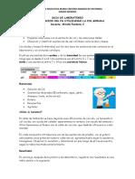 Determinacion de pH con la col morada, lombarda, repollo