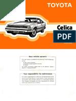 1985 Toyota Celica Owner's Manual (No Hyperlinks)