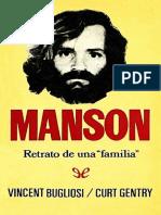 Manson Retrato de Una Familia