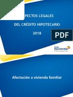 Modulo Aspectos Legales Credito Hipotecario