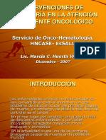 Cuidados de Enfermeria Cancer