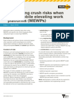 ISBN Controlling Crush Risks When Using Mobile Elevating Work Platforms Fact Sheet 2018 03