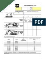 4. Formato de Juego Axial de Rodamiento de Giro Pala 6060FS