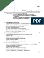 SEN17513 Summer2015 Question Paper