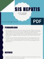 Fitri Lestari-refarat Sirosis Hep