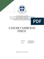 Cancer y Ejercicio