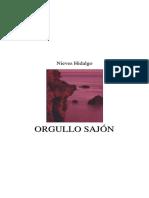 Orgullo sajon Nieves Hidalgo