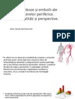 Tromboze Si Embolii Ale Arterelor Periferice203455575