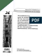 32. Procedimientos Para La Recepción de Las Mercancías en El Almacén.
