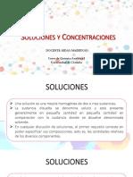 Soluciones y Concentraciones