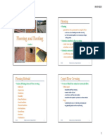 Lecture 7 Flooring and Roofing