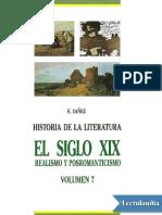 IAÑEZ EDUARDOEl Siglo XIX Realismo y Posromanticismo - Eduardo Ianez