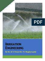 Irrigation Engineering India