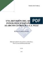 Sistema fonológico español