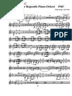 Piano-Orkest Reflexie Op Een Volksliedje - 006 Trumpet in C