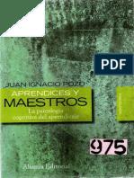 Aprendices y Maestros Pozo PDF