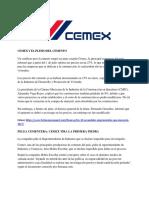 Cemex y El Pleito Del Cemento