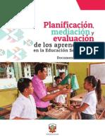 Orientaciones Para La Planificación - Mediación y Evaluación (1)