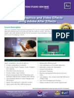 Brochure Adobe After Effects