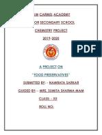 food preservatives chemistry.docx