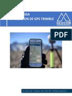 Equipos GPS Trimble